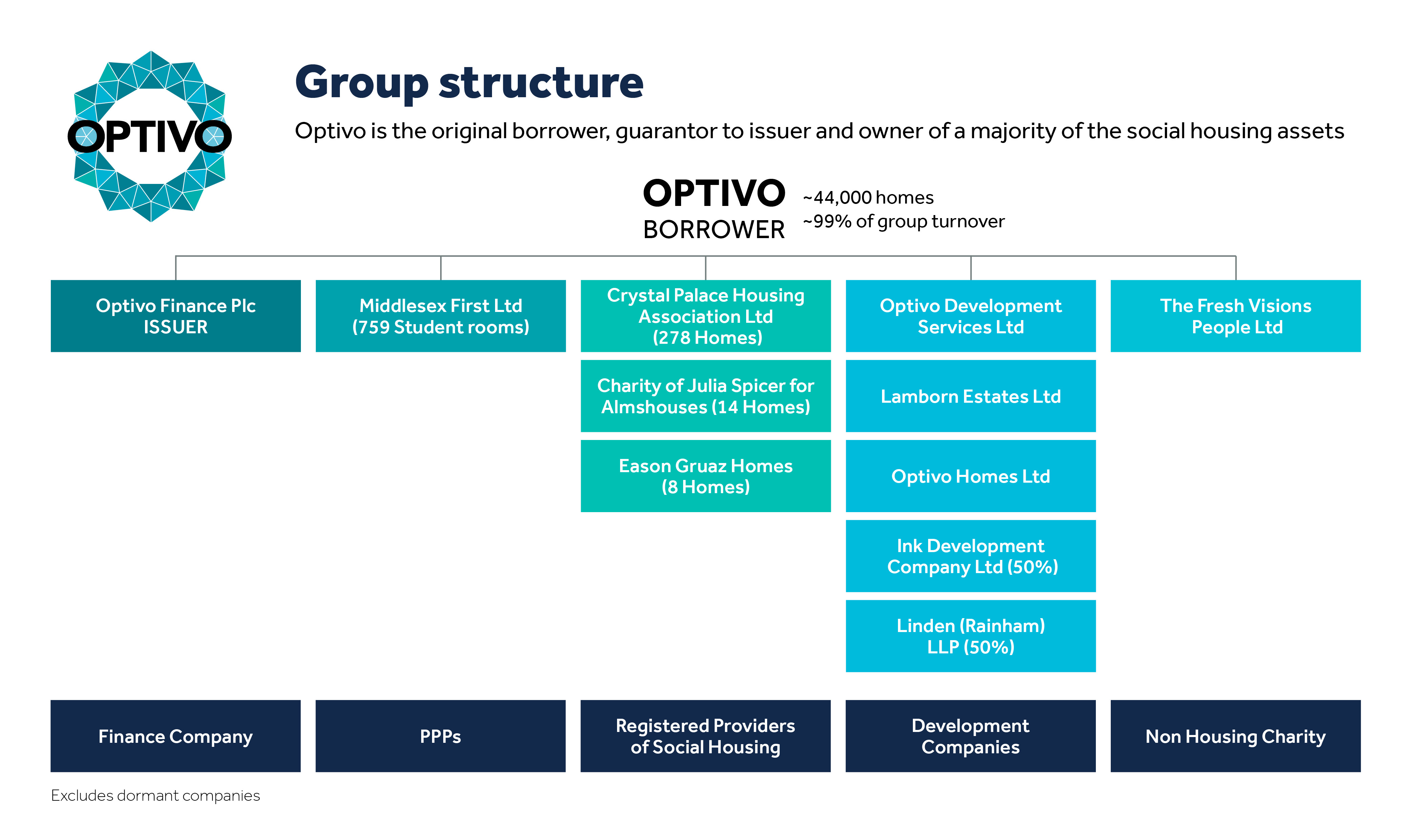 Optivo group structure